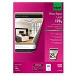 Sigel Farblaser Fotopapier A4 170g Nr. LP342 PA 200 Blatt hochweiß