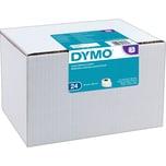 Dymo Adressetikett S0722390 permanent PA= 24 x 260 Stück/Pack. 36 x 89 mm