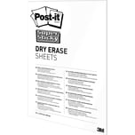 Post-it Folie Super Sticky DryErase weiß Nr. DEFPackL-EU 279x39cm PA 15 Blatt