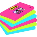 Post-it Haftnotiz Super Sticky 127x76mm Nr. 6556SJ Z-Notes Bora Bora PA 6 Bl