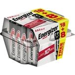 Energizer Batterie MAX AAA 1.5V 18+8 St./Pack. Nr. E301645000. 1.5V. PA= 18+8Stk