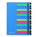 Pagna Ordnungsmappe A4 24 Fächer blau Nr. 24151-02 Deskorganizer 1-24