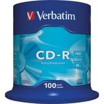 Verbatim CD-R 700MB 80Min 52x Nr. 43411100er SpindelExtra-Protection
