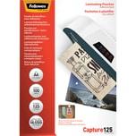 Fellowes Laminierfolie A4 glänzend 125mic Nr. 5328901. PA= 100Stk. selbstklebend