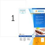 Herma Outdoor Etikett Nr. 4379 weiß PA 100 Stk. 210x297mm