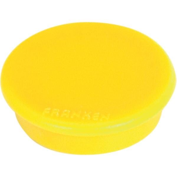 Franken Magnet gelb Nr. HM3004 Ø 32mm Haftkraft 08kg