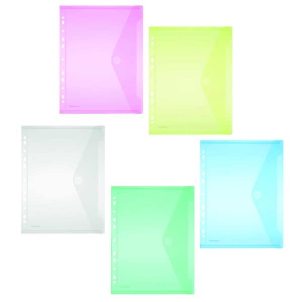 FolderSys Sammelhülle A4 sortiert Nr. 40106-94 PA= 10Stück PP