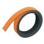 Franken Magnetband orange Nr. M802 05 10mmx1m Stärke 1mm