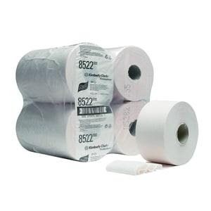 Scott Toilettenpapier Mini Jumbo weiß 2-lagig 474 Blatt 12 Rollen