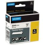 Dymo Schriftbandkassette 1734524 IND 24mmx3.5m schwarz auf weiß