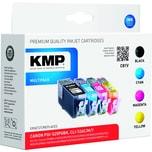 KMP Tintenpatrone C81V 15130050 wie PGI525PG/CLI526 4 St./Pack.