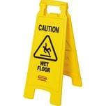 Rubbermaid Warnschild Caution Wet Floor 2-seitig gelb Nr. FG611277YEL