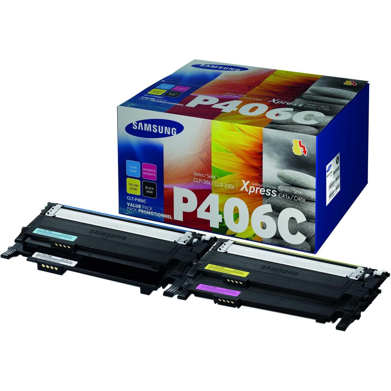Samsung Toner CLT-P406C x sw/c/m/y 4 St./Pack.