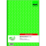 Sigel EDV Kassenbuch A4 hoch grün/weiß Nr. SD056 2x 40Blatt selbstdurchschr.