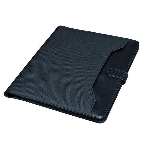 Alassio Schreibmappe Fano 30073 26x322x2cm Lederimitat schwarz