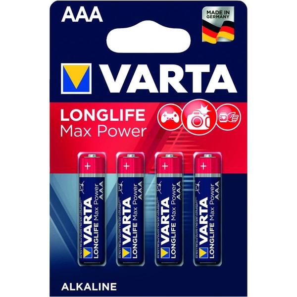Varta Batterie Max Tech Micro Aaa Lr 03 Nr. 4703110404 15V 1.270Mah 4St