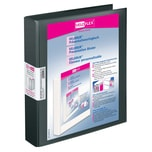 VELOFlex Präsentationsringbuch Velodur Nr. 1143180 2 Ringe Ø 25mm schw. 40mm