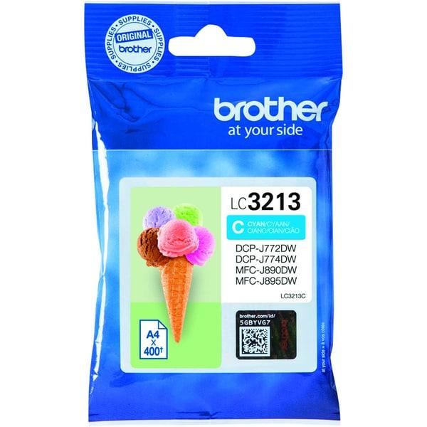 Brother Tintenpatrone LC3213C cyan