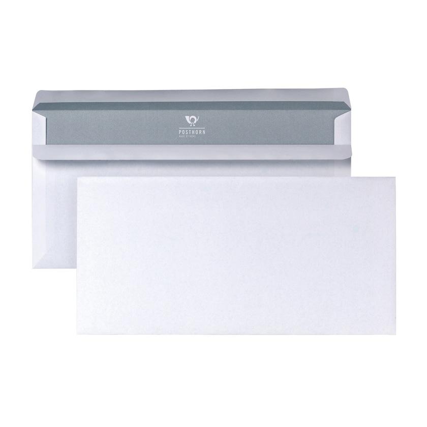 Posthorn Briefumschlag DL weiß selbstklebend 75g Nr. 01220153 (1.000 Stück)