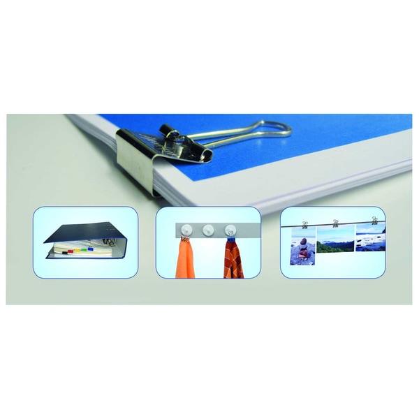 Maul Foldbackklemmer Mauly 5x16mm Nr. 2141699 farbig sortiert PA= 12Stk
