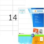Herma Superprint Etiketten Nr. 4674 weiß PA 1.400Stk 105x423mm permanent