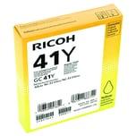 Ricoh Gelpatrone 405764 GC41Y für Aficio SG 3110DN 2.200 S. gelb
