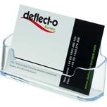 Deflecto Visitenkartenhalter glasklar Nr. 70101 für 50 Karten