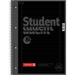 Brunnen Collegeblock Student A4 liniert Nr. 1067927190 80Bl mit Randschwarz