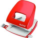 Leitz Locher New NeXXt hellrot Nr. 5008-20 30 Blatt