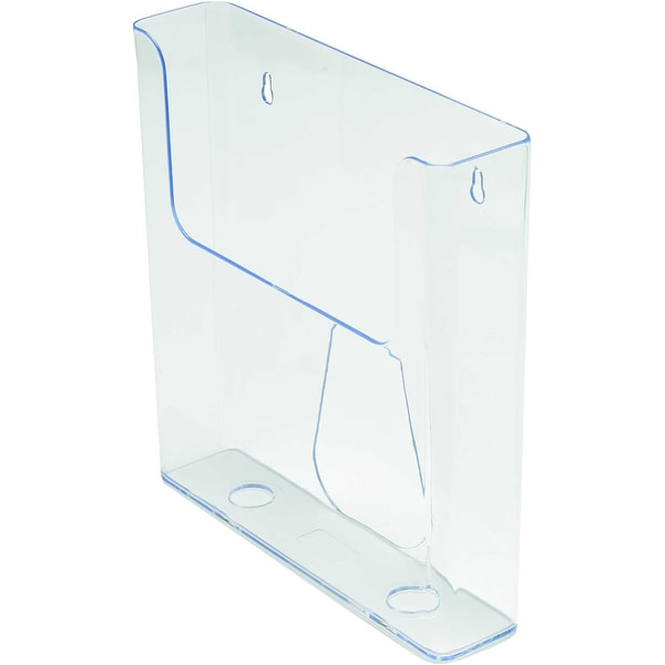 Deflecto Prospekhalter A4 transparent Nr. 76401 23x244x5cm 1 Fach