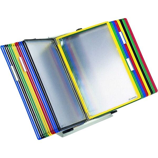 Tarifold Tischständer A4 mit 30 Tafeln Nr. 434309 farbig sortiert