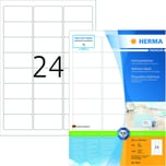 Herma Adress-Etiketten Nr. 4645 weiß PA 2.400 Stk 635x339mm