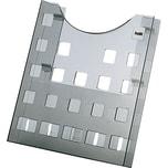 Helit Prospekthalter the grid A4 grau Nr. H6102508 1 Fach transparent