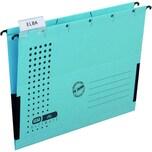 Elba chic Ultimate Hängehefter blau Nr. 100552099 mit Leinenfröschen