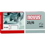 Novus Blockhefterklammern 23/6 Nr. 042-0039 PA 1.000 Stück verzinkt