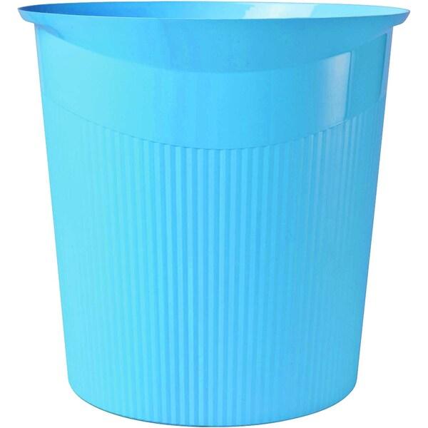 HAN Papierkorb Loop hellblau 13 Liter Nr. 18140-54 Höhe: 29cm konisch