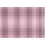 BRUNNEN Karteikarte A7 quer kariert rot Nr. 102270220. PA= 100Stk . 180g