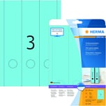 Herma Rückenschild Nr. 5138 blau PA 60Stk breit/lang bedruchbar