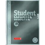 Brunnen Collegeblock Student A4 kariert Nr. 1067145 90g 80 Blatt Protokoll