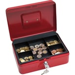 Wedo Geldkassette Größe 3 rot Nr. 145302X. 25x18x9cm