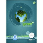 Ursus Briefblock A4 50 Blatt kariert Nr. 608585020 Green Pure premiumweiß