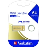Verbatim USB-Stick Metal Executive 64GB Nr. 99106 USB 3.0 64GB gold