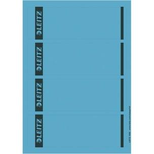 Leitz Rückenschild breit/kurz blau Nr. 1685-20-35. PA= 100St sk bedruckbar