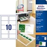ZWF Visitenkarten weiß 200g Nr. C32011-10 PA 100Stück