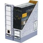Fellowes Stehsammler A4 Karton grau/weiß Nr. 0186004 78 x 311 x 285cm