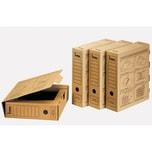 Bene Archivbox Wellpappe braun Nr. 96900 NA 8x33x29cm