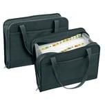 VELOFlex Fächertasche Office A4 blanko Nr. 4446880 24 Fächer Textil schwarz