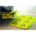 Herma Signal Folien-Etikett Nr 8033 gelb PA 25Stk 210x297mm bedruckbar