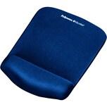 Fellowes Handgelenkauflage PlushTouch Nr. 9287302 Mauspad blau 185x25x24cm