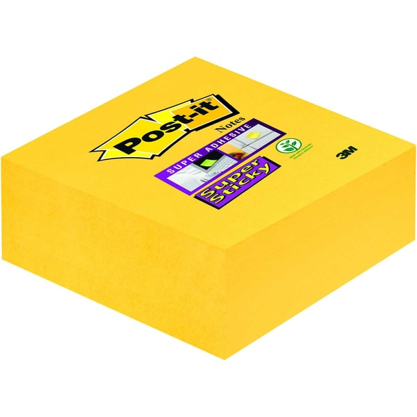 Post-it Haftnotiz Super Sticky 76x76mm Nr. 2014-S narzissengelb 270 Blatt